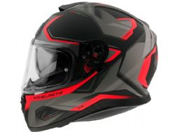 Casco Mt Thunder 3 Sv Turbine C5 Rojo Mate