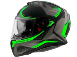 Casco Mt Thunder 3 Sv Turbine C6 Verde Fluor Mate