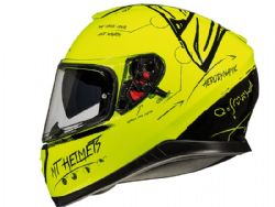 Casco Mt Thunder 3 Sv Board Amarillo Fluor Brillo
