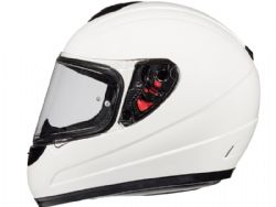 Casco Mt Thunder Kid Solid Blanco