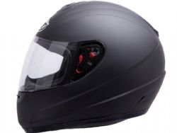 Casco Mt Thunder Kid Solid Negro Mate