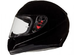 Casco Mt Thunder Kid Solid Negro