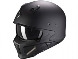 Casco Scorpion Covert-X Solid Negro Mate