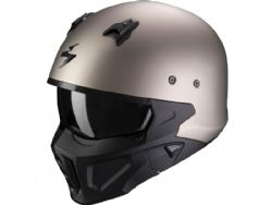Casco Scorpion Covert-X Solid Titanio Mate