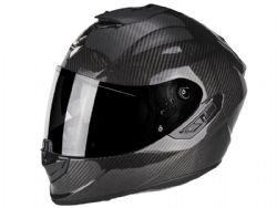 Casco Scorpion Exo-1400 Carbon Air Solid Negro