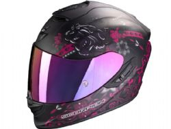 Casco Scorpion Exo-1400 Air Toa Negro Mate / Rosa