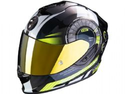 Casco Scorpion Exo-1400 Air Torque Amarillo Neon
