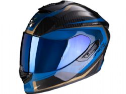 Casco Scorpion Exo-1400 Carbon Air Esprit Negro / Azul