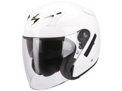 Casco Scorpion Exo-220 Solid Blanco