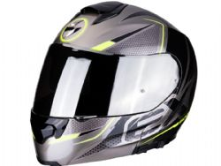 Casco Scorpion Exo-3000 Air Creed Negro / Amarillo