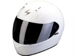 Casco Scorpion Exo-390 Solido Blanco