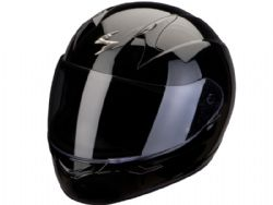 Casco Scorpion Exo-390 Solido Negro