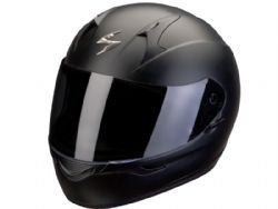 Casco Scorpion Exo-390 Solido Negro Mate