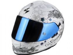 Casco Scorpion Exo-510 Air Azalea Blanco Perla / Plata