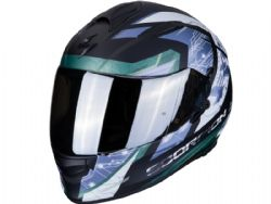 Casco Scorpion Exo-510 Air Clarus Negro Mate / Plata