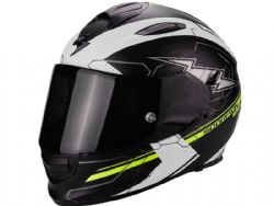 Casco Scorpion Exo-510 Air Cross Negro Amarillo