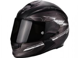 Casco Scorpion Exo-510 Air Cross Gris Negro