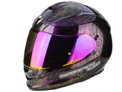 Casco Scorpion Exo-510 Air Fantasy Camaleon Negro