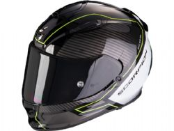 Casco Scorpion Exo-510 Air Frame Negro / Amarillo / Blanco