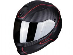 Casco Scorpion Exo-510 Air Frame Negro Mate / Rojo