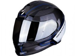 Casco Scorpion Exo-510 Air Frame Negro / Azul / Blanco