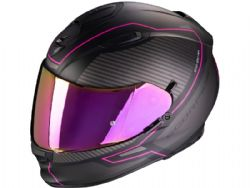 Casco Scorpion Exo-510 Air Frame Negro Mate / Rosa