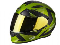 Casco Scorpion Exo-510 Air Marcus Verde Mate / Negro