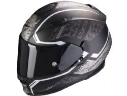 Casco Scorpion Exo-510 Air Occulta Negro Mate / Plata