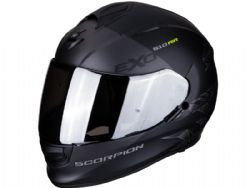Casco Scorpion Exo-510 Air Pique Negro Mate / Plata