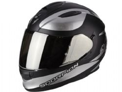 Casco Scorpion Exo-510 Air Sublim Negro / Cromado