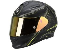 Casco Scorpion Exo-510 Air Sync Negro-Amarillo