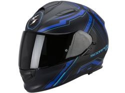 Casco Scorpion Exo-510 Air Sync Negro-Azul