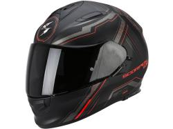 Casco Scorpion Exo-510 Air Sync Negro-Rojo