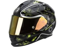 Casco Scorpion Exo-510 Air Xena Negro-Amarillo