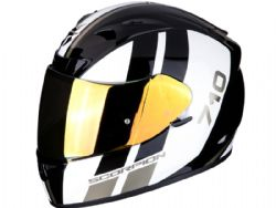 Casco Scorpion Exo-710 Air Gt Negro / Blanco / Oro