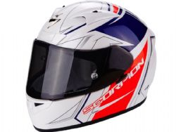 Casco Scorpion Exo-710 Air Line Rojo Azul