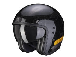 Casco Scorpion Exo Belfast Shift Negro / Oro