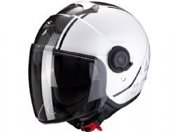 Casco Scorpion Exo-City Avenue Blanco / Negro
