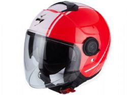Casco Scorpion Exo-City Avenue Rosa / Blanco