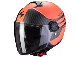 Casco Scorpion Exo-City Moda Coral Mate / Negro