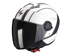 Casco Scorpion Exo-City Scoot Blanco Mate / Negro