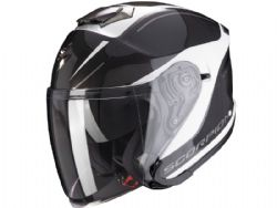 Casco Scorpion Exo-S1 Shadow Blanco Perla / Plata