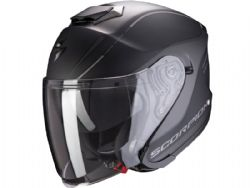 Casco Scorpion Exo-S1 Shadow Negro Mate / Plata