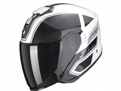 Casco Scorpion Exo-S1 Cross-Ville Blanco / Negro / Plata