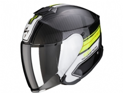 Casco Scorpion Exo-S1 Cross-Ville Negro Amarillo Neon