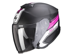 Casco Scorpion Exo-S1 Cross-Ville Negro Mate / Rosa