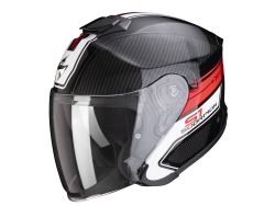 Casco Scorpion Exo-S1 Cross-Ville Negro / Rojo