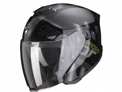 Casco Scorpion Exo-S1 Gravity Negro / Plata