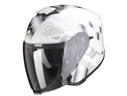 Casco Scorpion Exo-S1 Gravity Perla Blanco / Plata