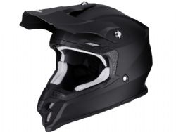 Casco Scorpion Vx-16 Air Negro Mate